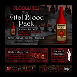 The Vital Blood Pack