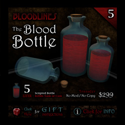The Blood Bottle