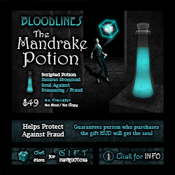 The Mandrake Potion
