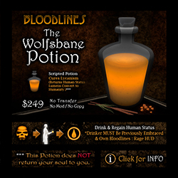 The Wolfsbane Potion